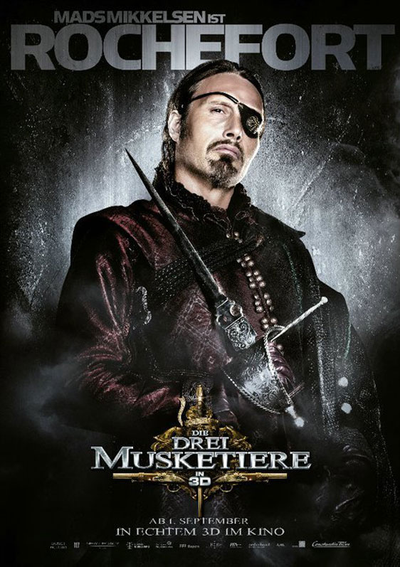 The Three Musketeers 3D Poster #17