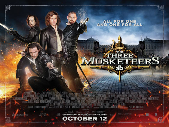 The Three Musketeers 3D Poster #18
