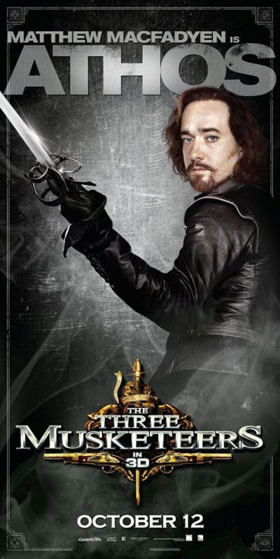 The Three Musketeers 3D Poster #5