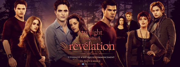 The Twilight Saga: Breaking Dawn - Part 1 Poster #2