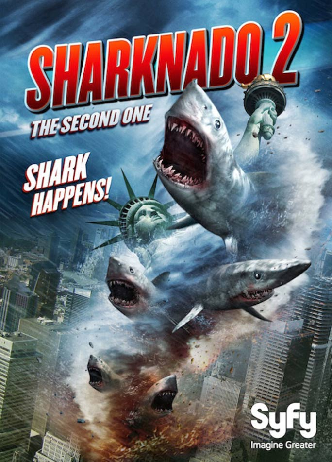 Sharknado 2: The Second One Poster #1