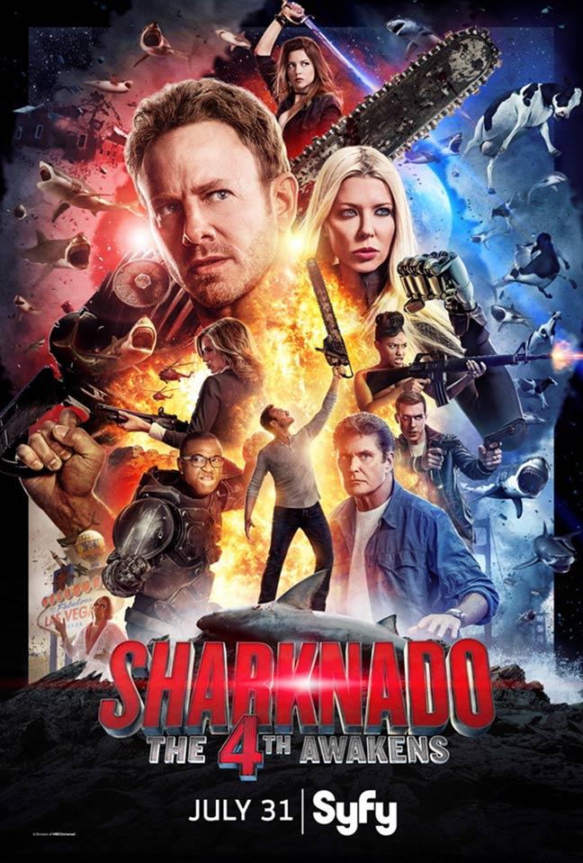 Sharknado 4: The 4th Awakens Poster #1