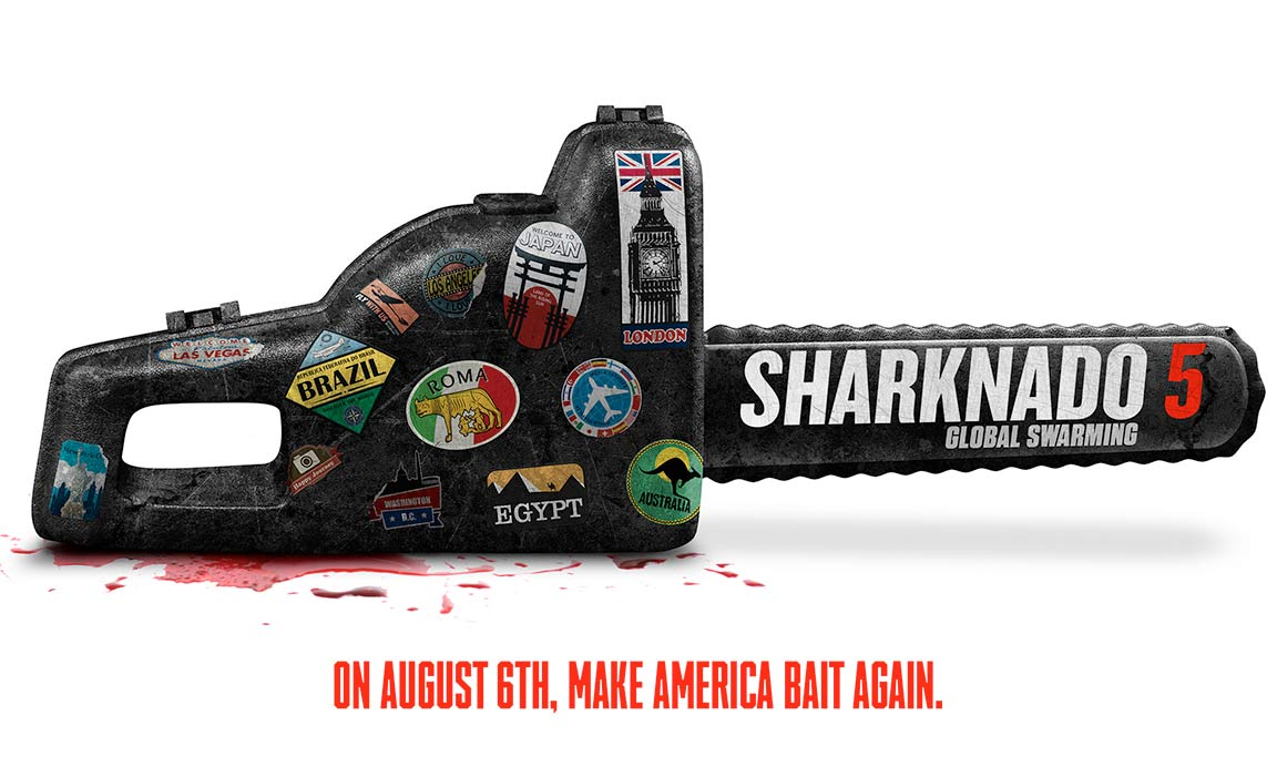 Sharknado 5: Global Swarming Poster #1