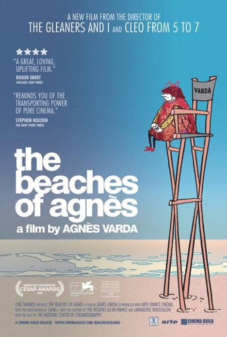 The Beaches of Agnès Poster #1