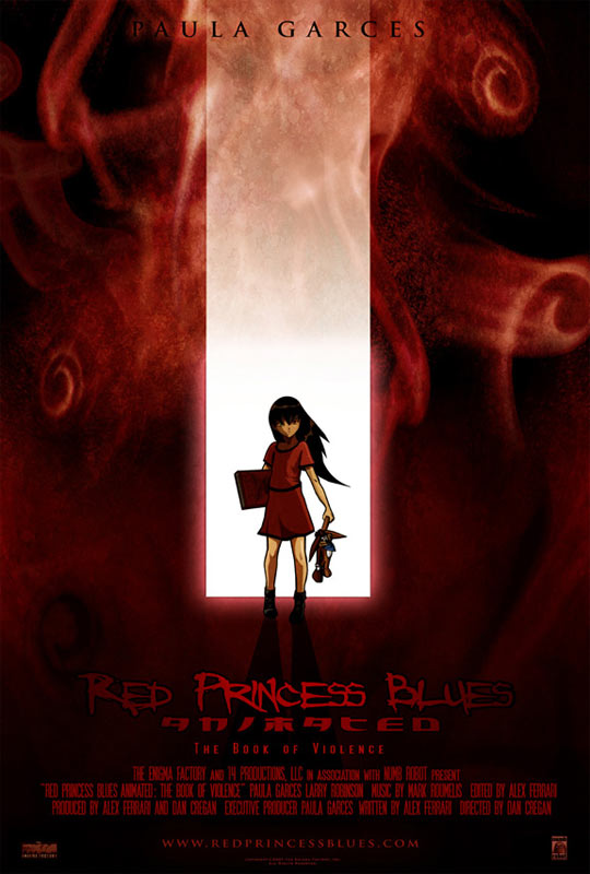 Red Princess Blues Animated: The Book of Violence Poster #1