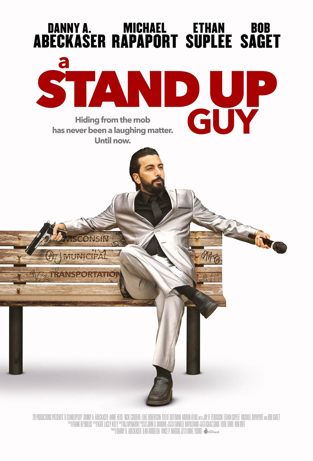 A Stand Up Guy 2016 Poster 1 Trailer Addict