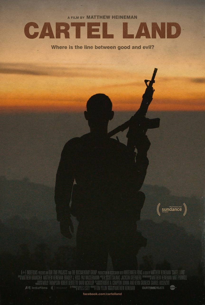 Cartel Land Poster #1