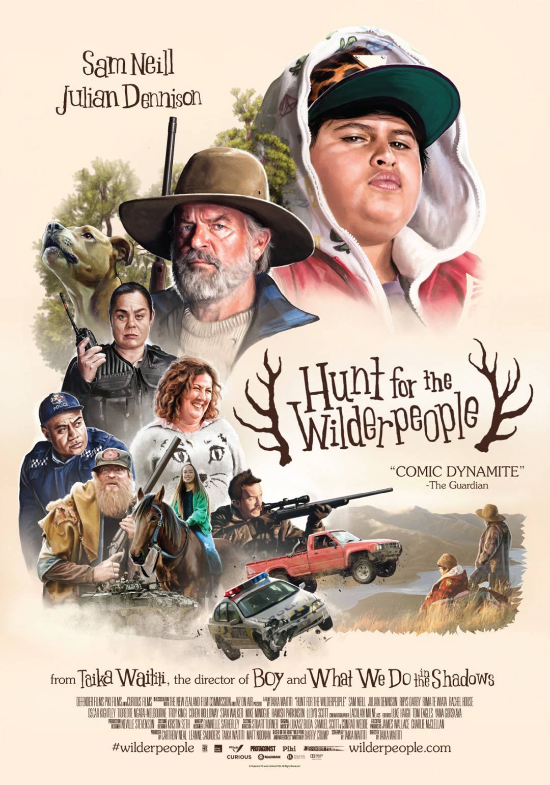 Hunt for the Wilderpeople Poster #3