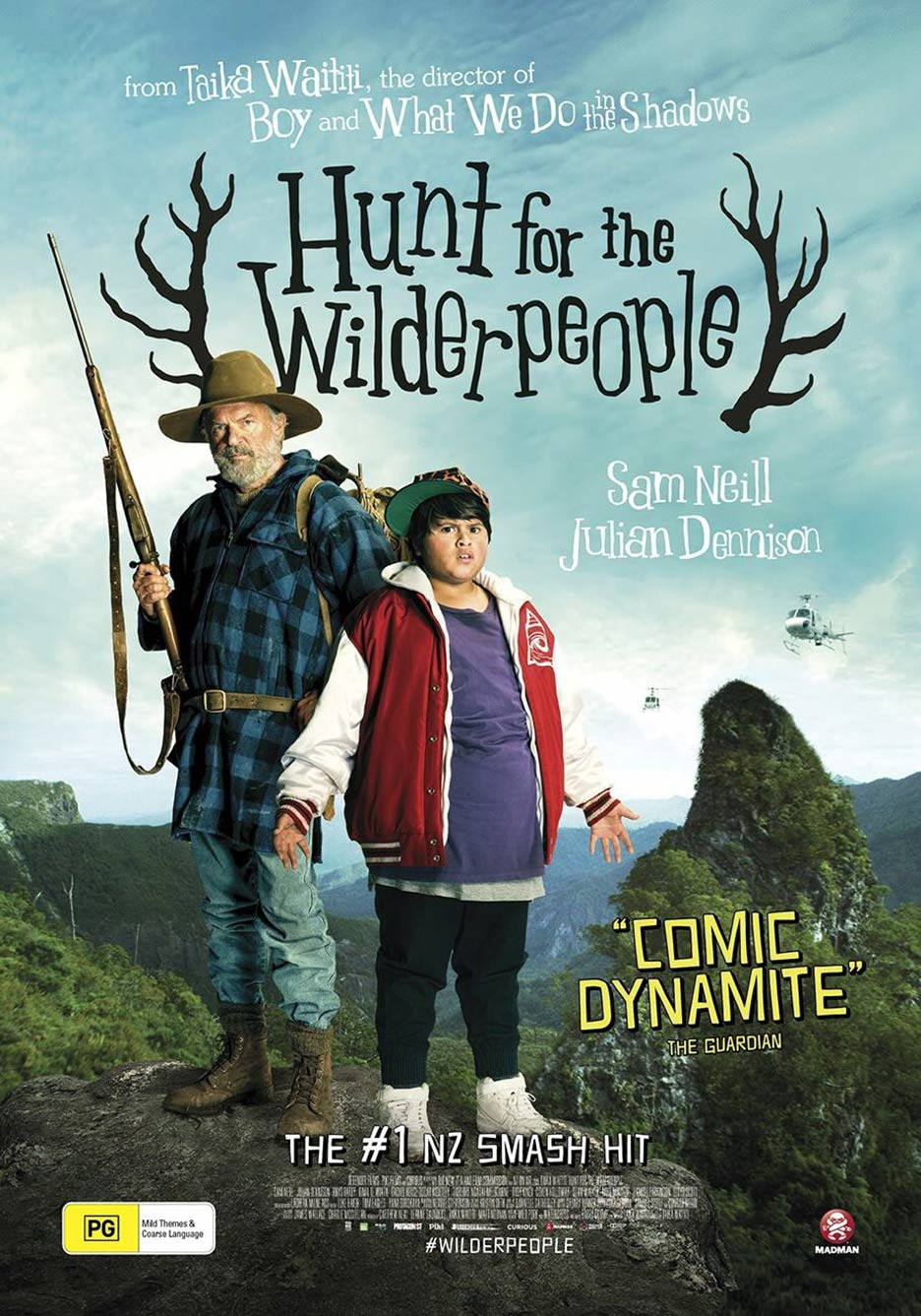 Hunt for the Wilderpeople Poster #5