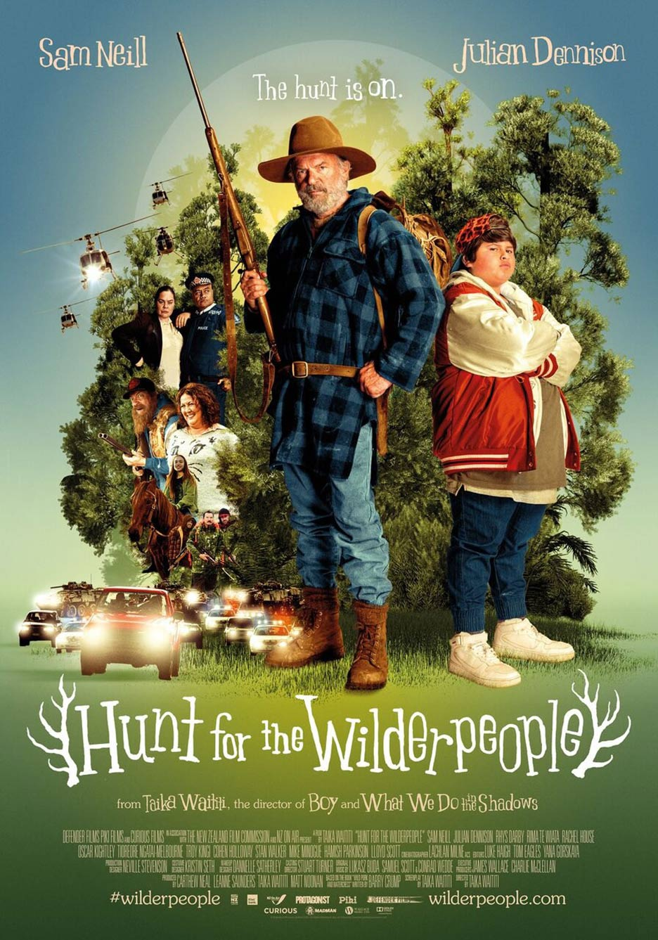 Hunt for the Wilderpeople Poster #1