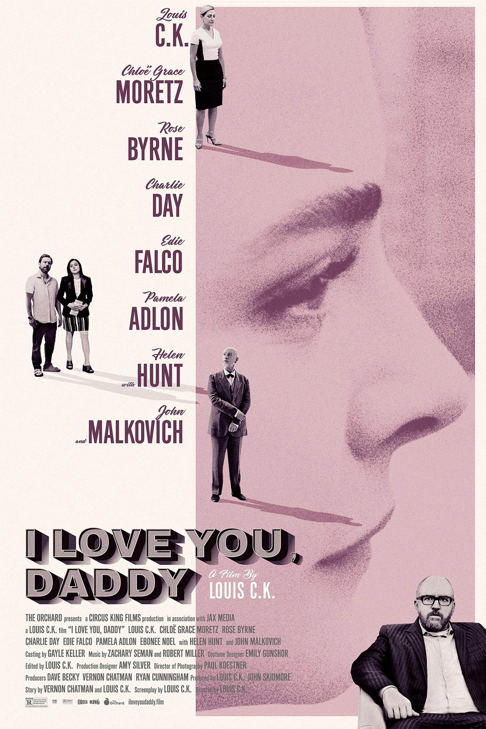 I Love You, Daddy Poster #1