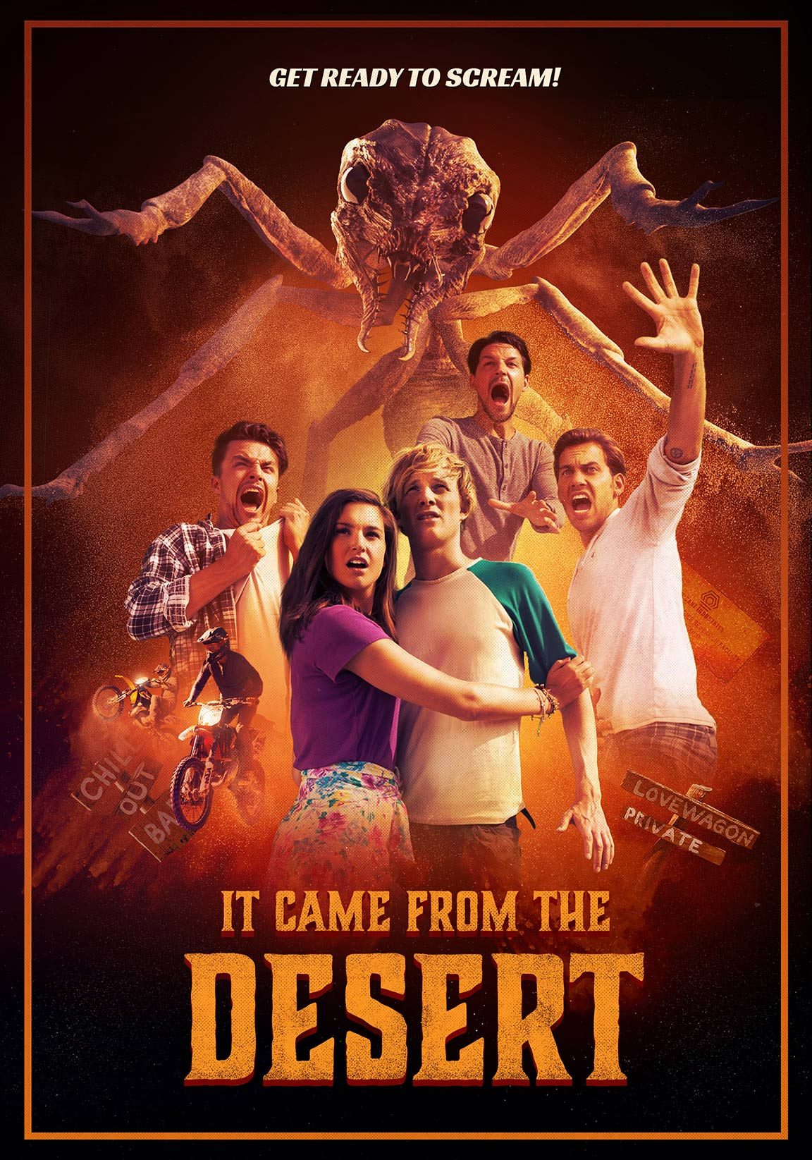 It Came from the Desert Poster #1