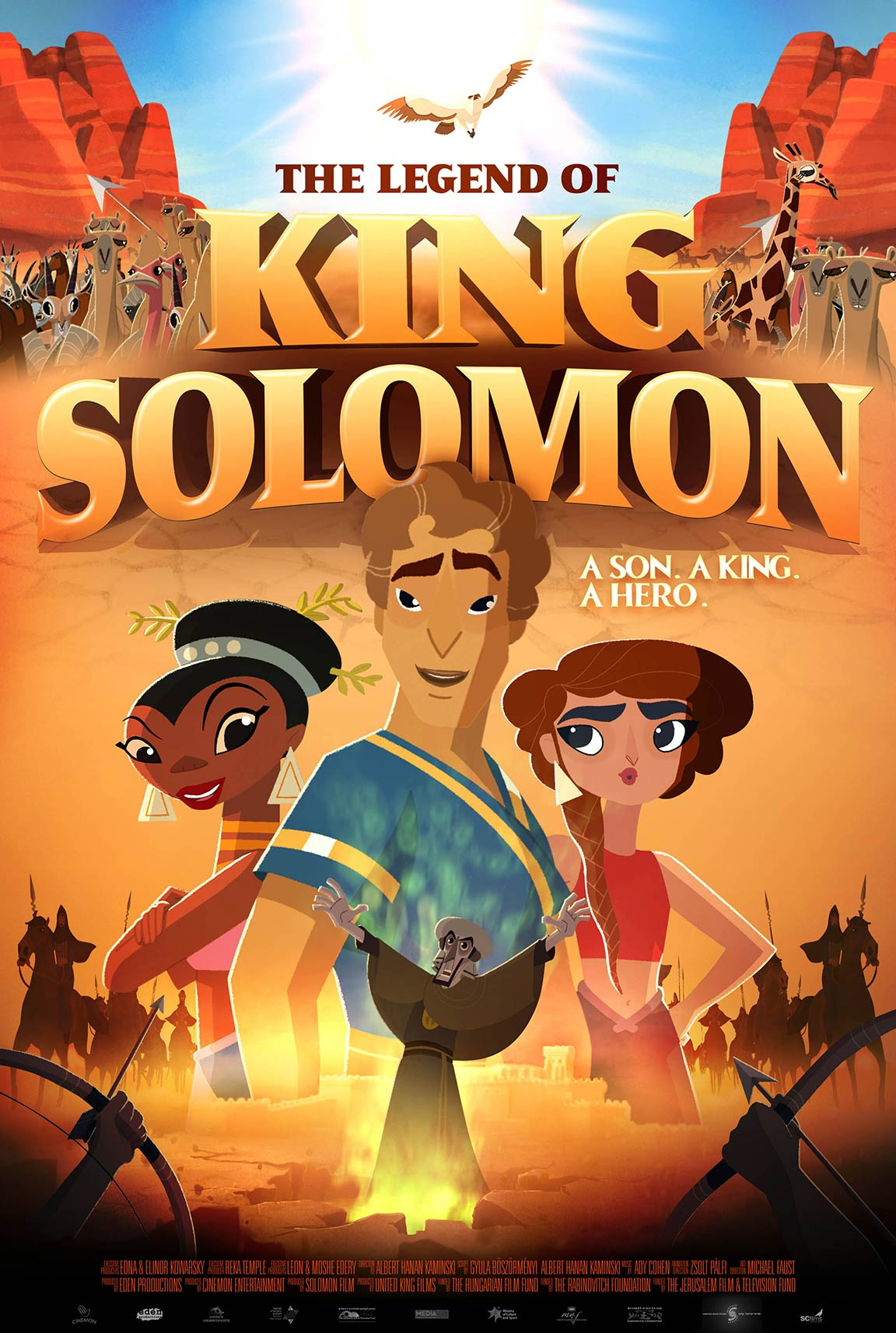 The Legend of King Solomon Poster #1