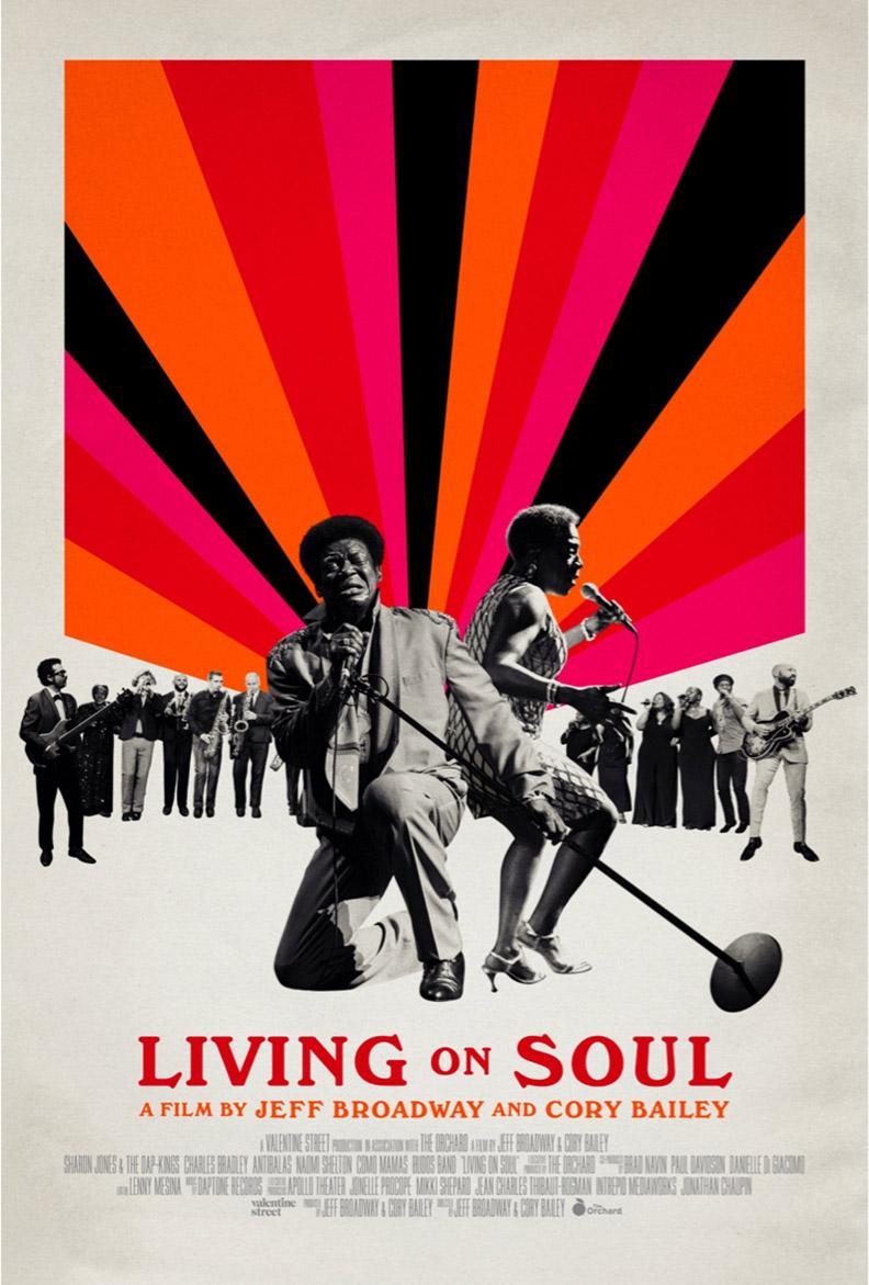 Living on Soul Poster #1