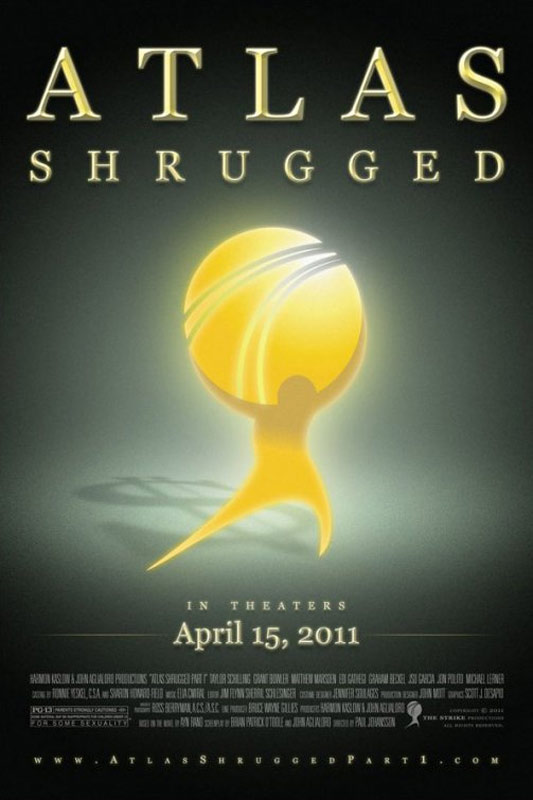 Atlas Shrugged: Part I Poster #1