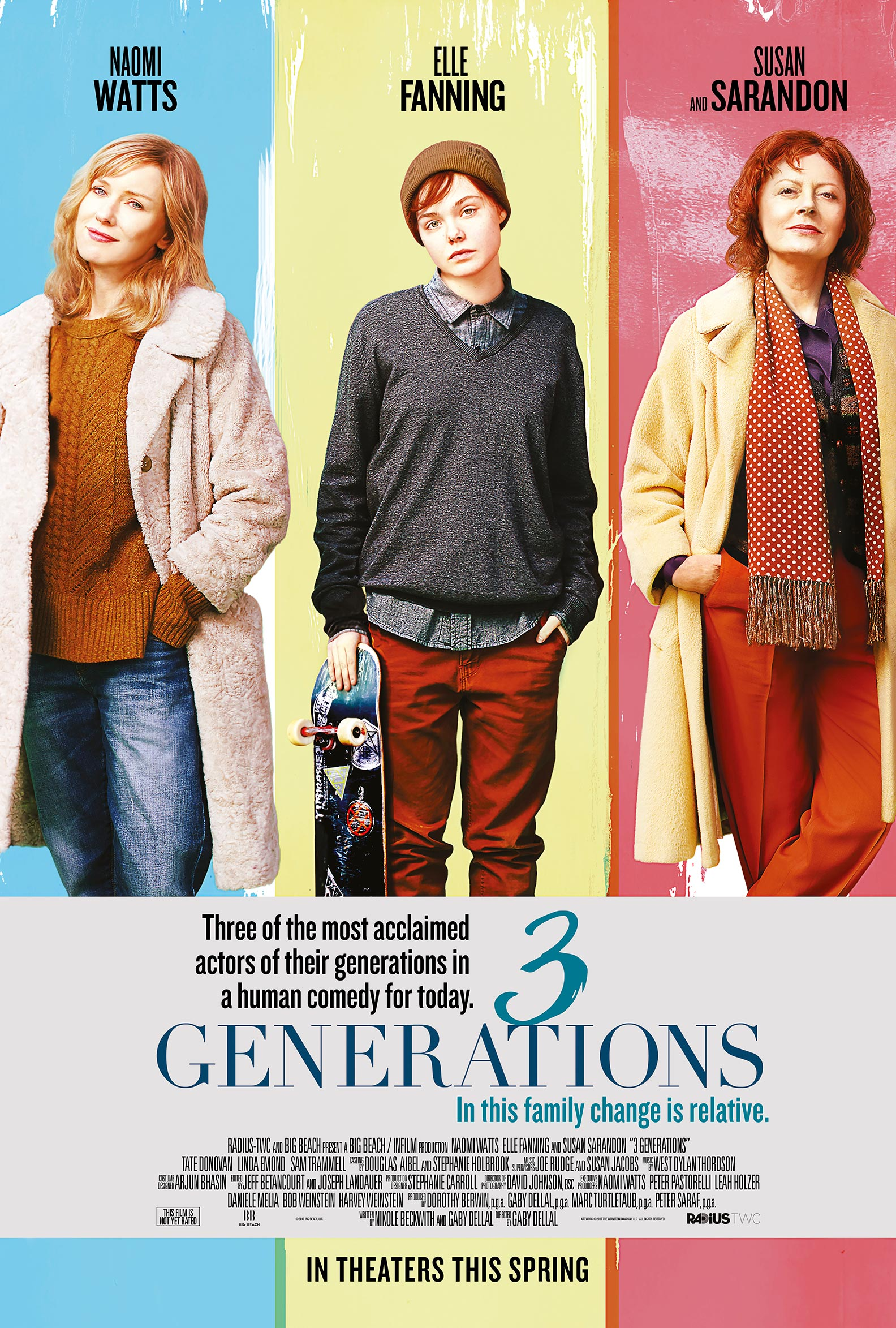 3 Generations Poster #4