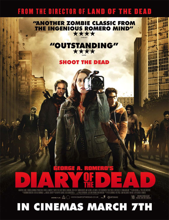 George A. Romero's Diary of the Dead Poster #3