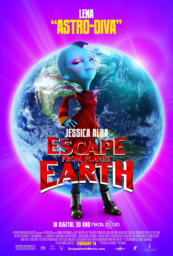 Escape from Planet Earth Poster #8