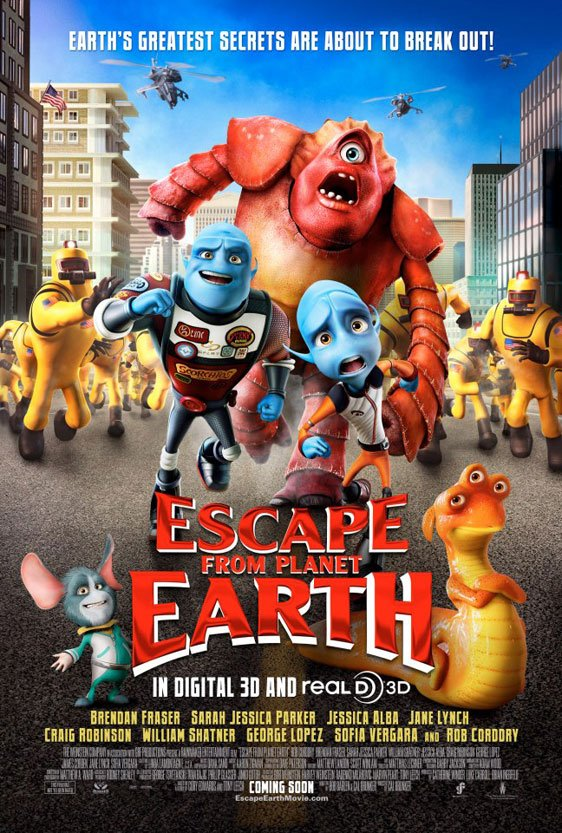 Escape from Planet Earth Poster #1