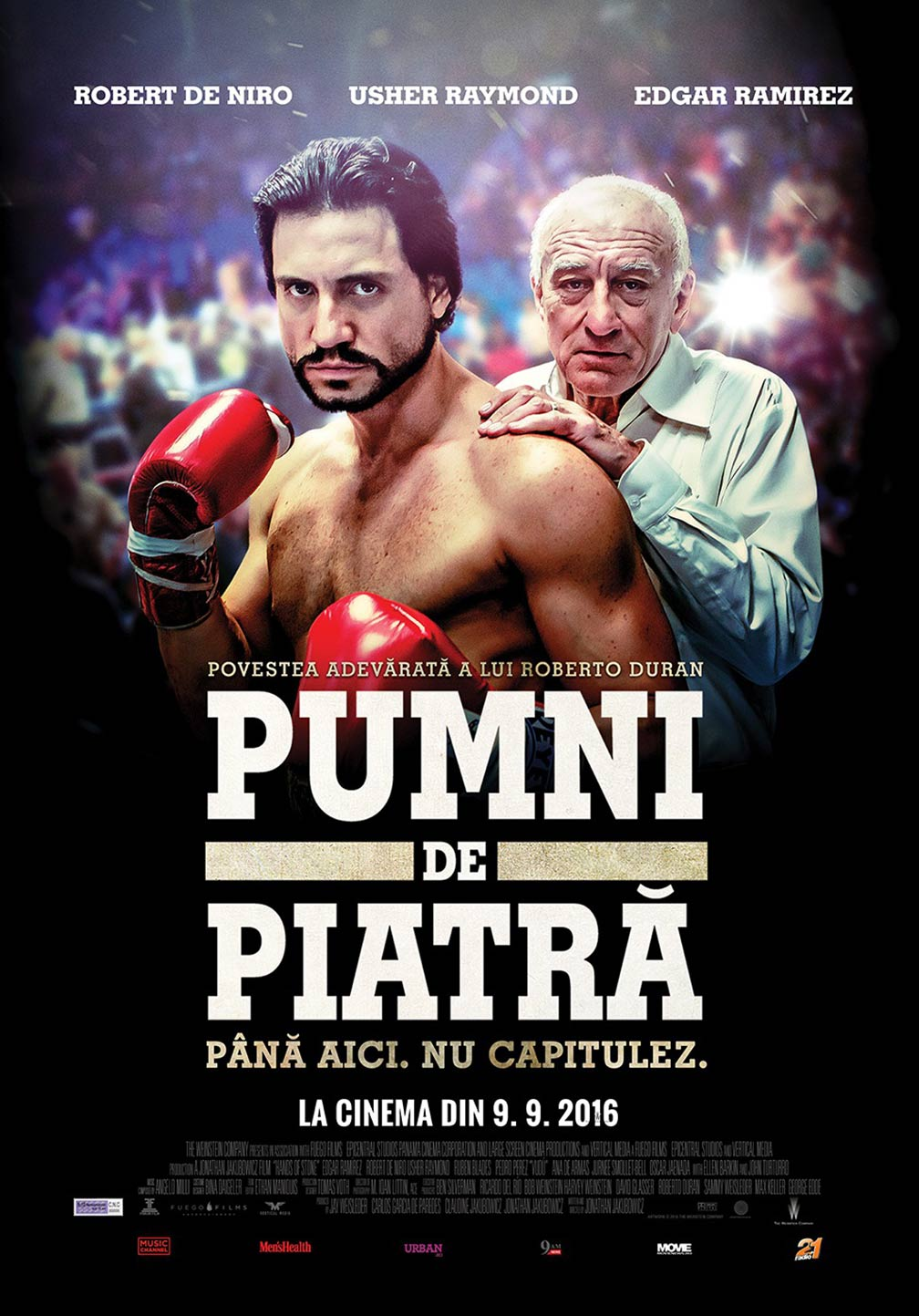 Hands of Stone Poster #2