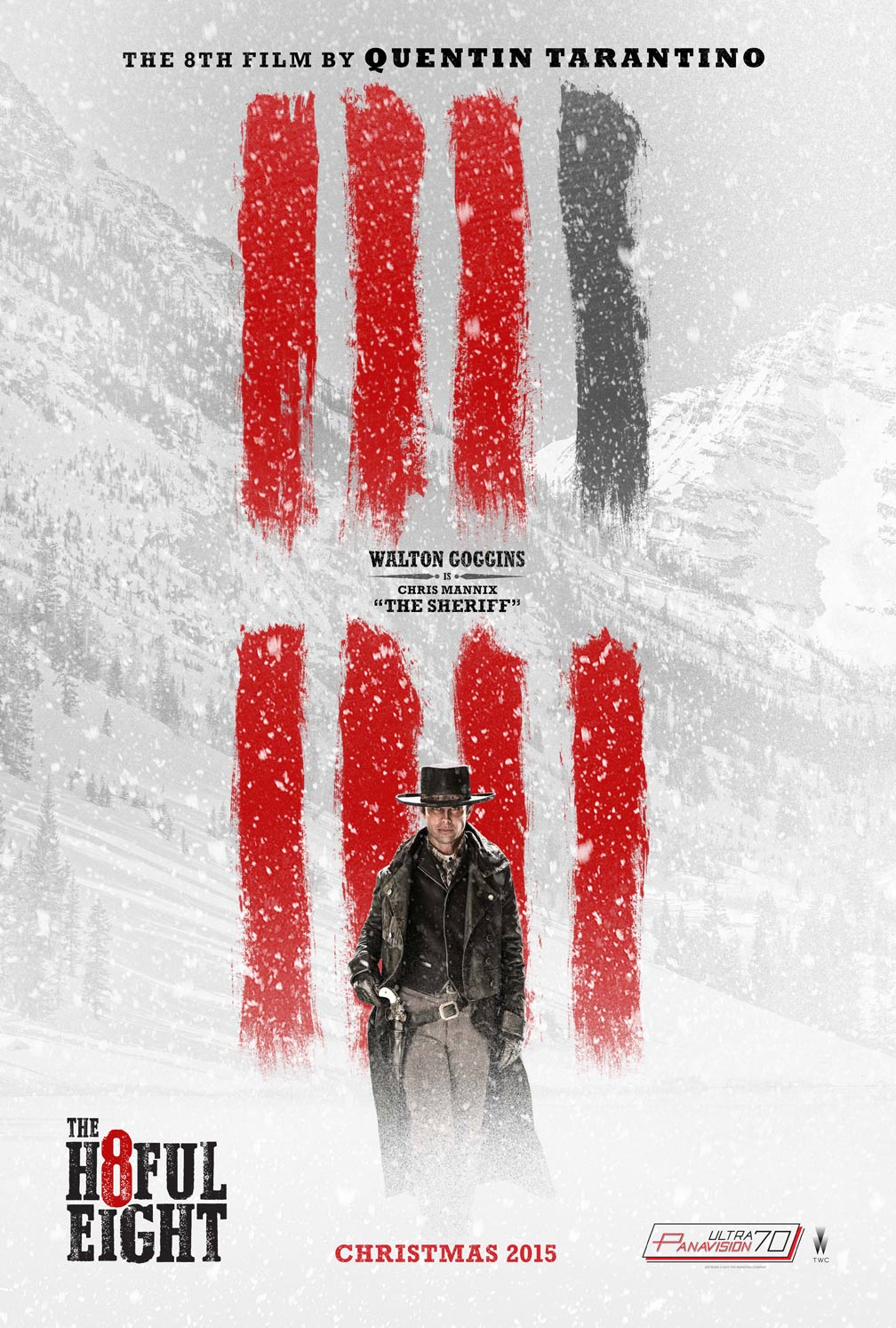 The Hateful Eight Poster #4