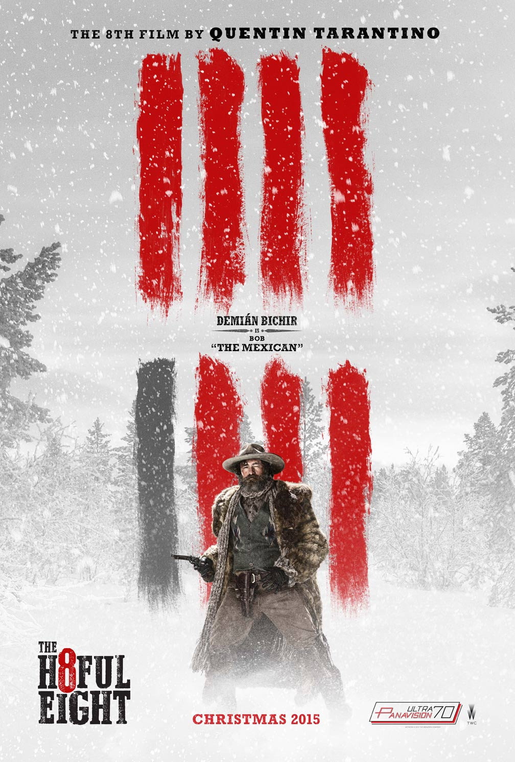 The Hateful Eight Poster #6
