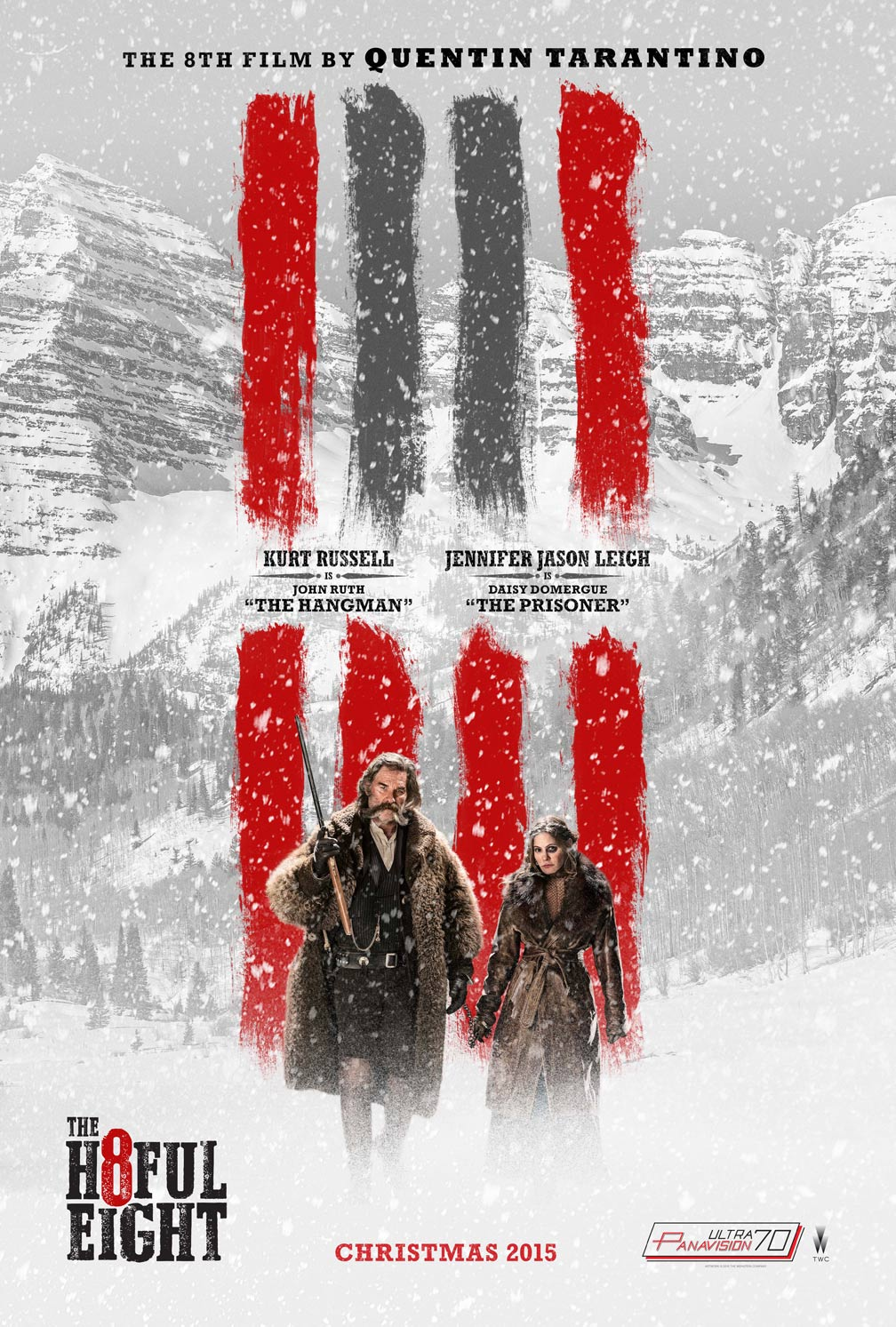 The Hateful Eight Poster #7