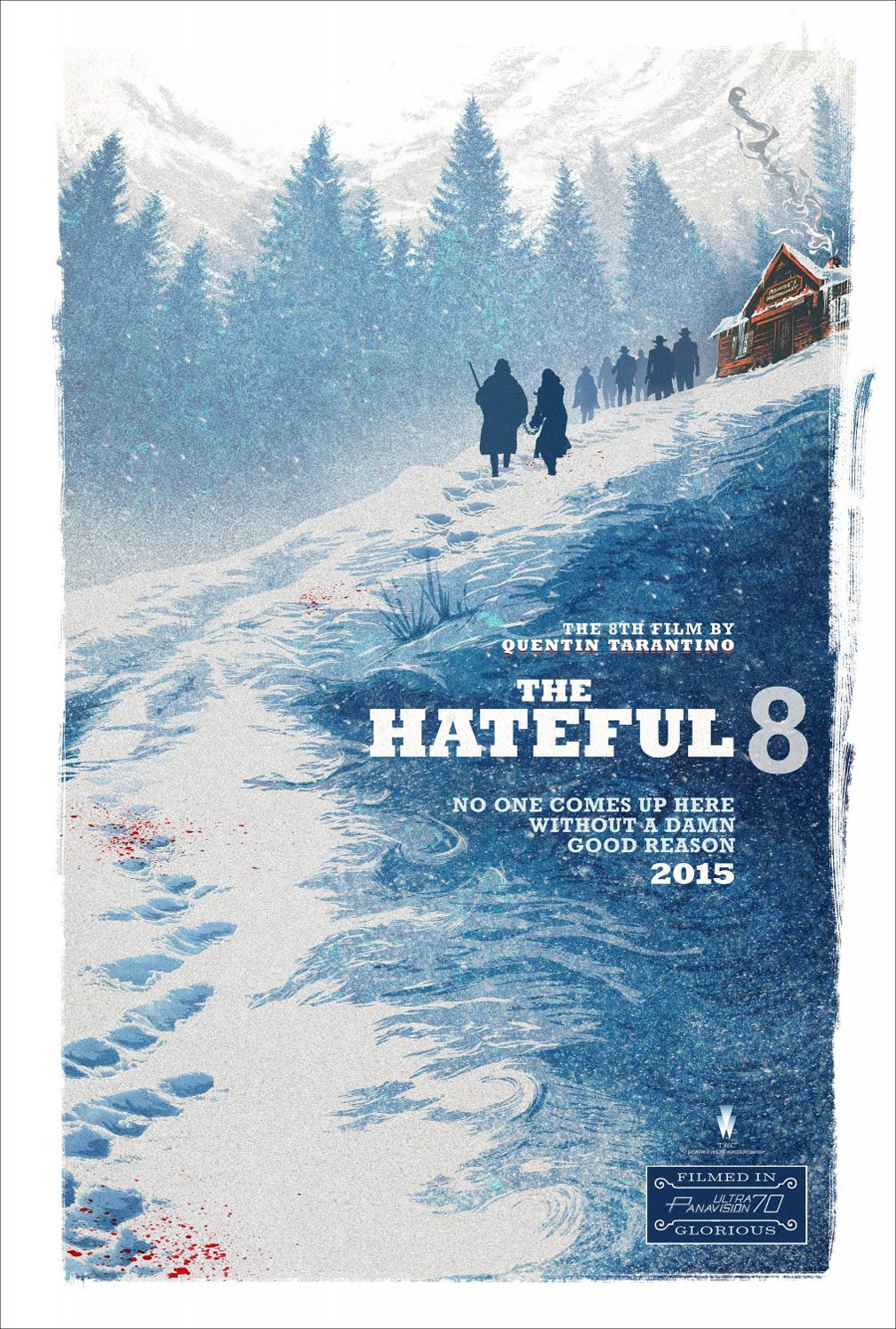 The Hateful Eight Poster #1