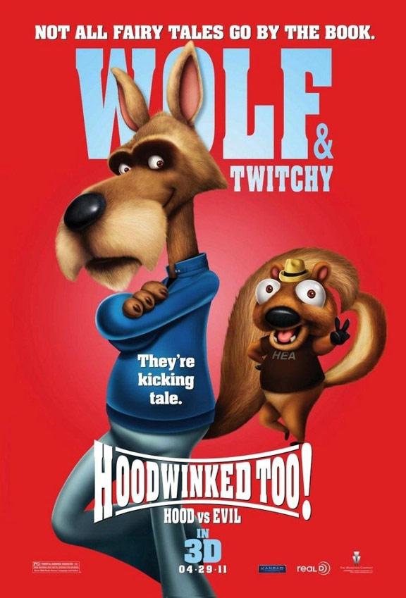 Hoodwinked Too! Hood vs. Evil Poster #3