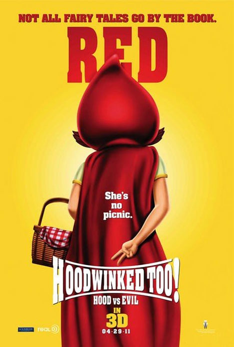 Hoodwinked Too! Hood vs. Evil Poster #1