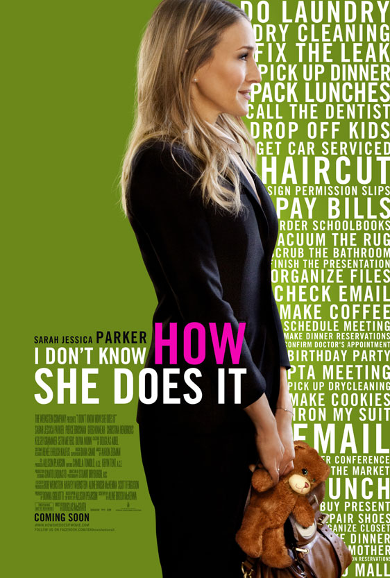 I Don't Know How She Does It Poster #1