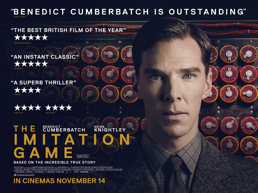 The Imitation Game Poster #4