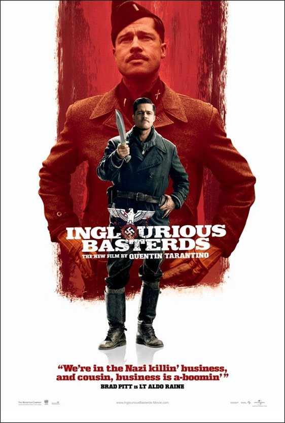 Inglourious Basterds (2009) Poster #1 - Trailer Addict