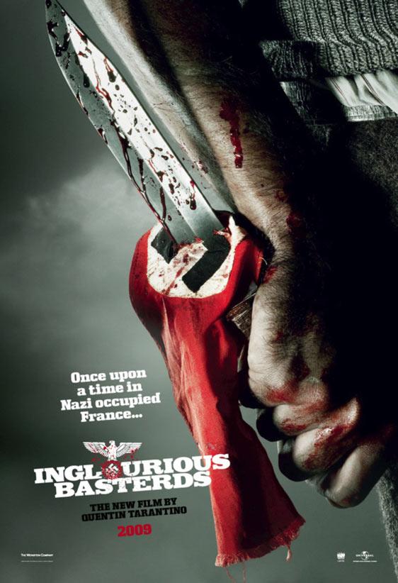 Inglourious Basterds Poster #1