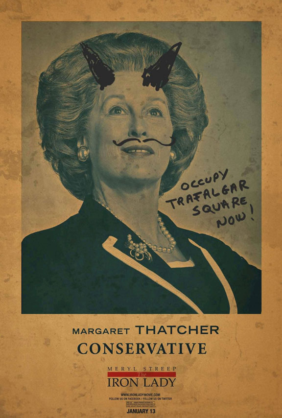 The Iron Lady Poster #4
