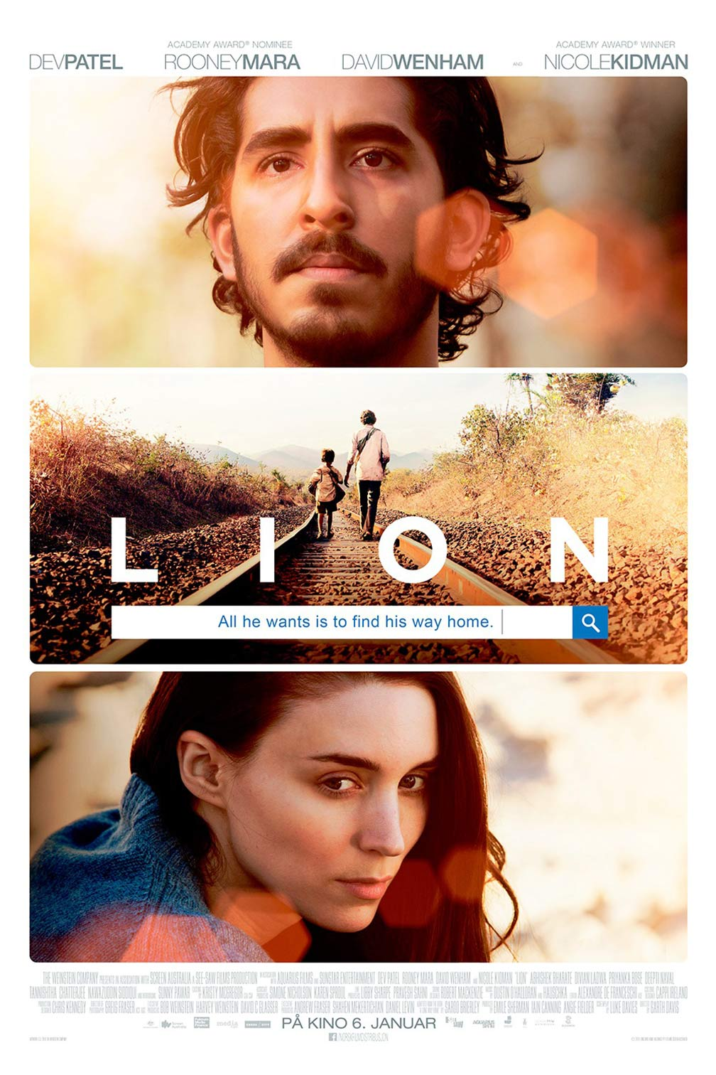 Lion (2016) Poster #9 - Trailer Addict David Wenham