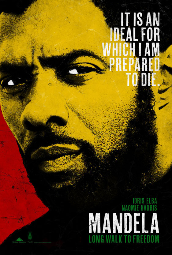 Mandela: Long Walk to Freedom Poster #1