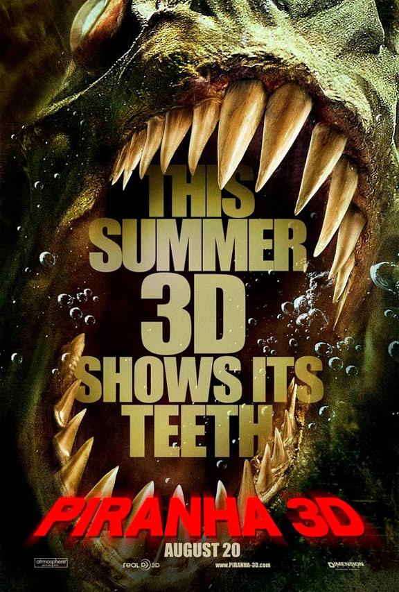 Piranha 3D Poster #2