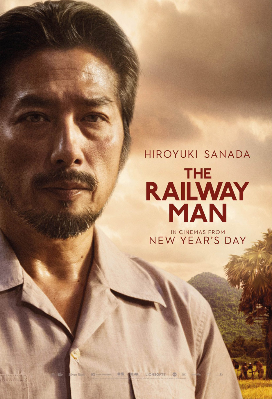 The Railway Man Poster #5
