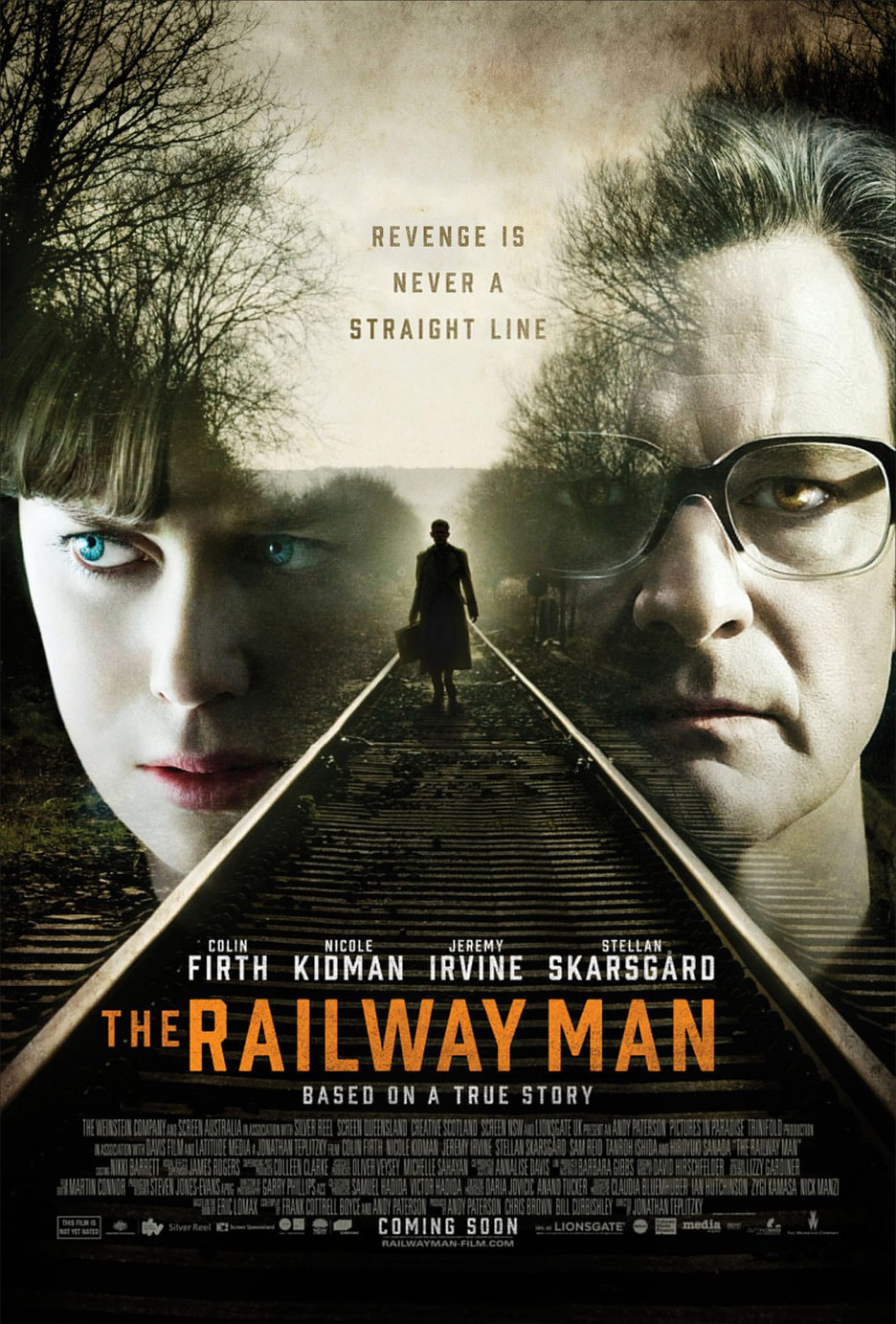 The Railway Man Poster #7