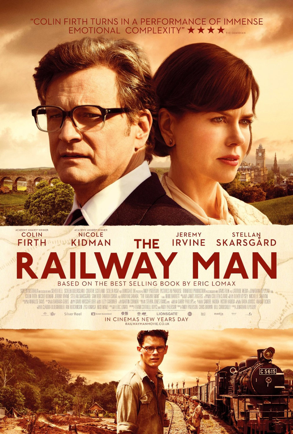 The Railway Man Poster #1