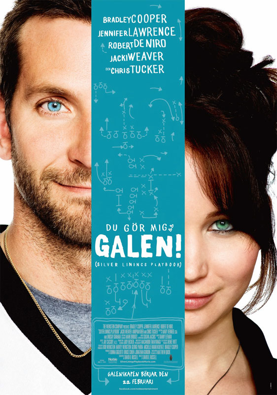 Silver Linings Playbook Poster #3