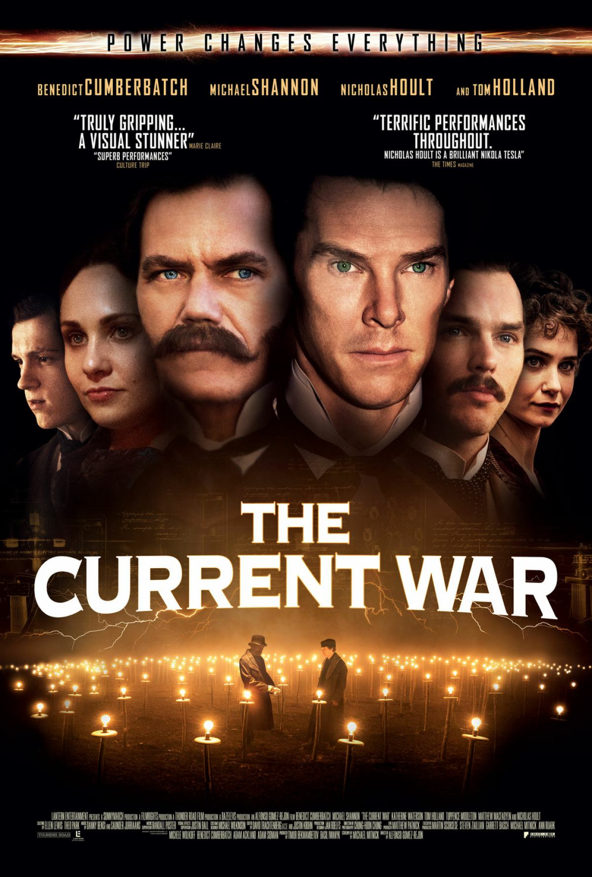 The Current War Poster #2
