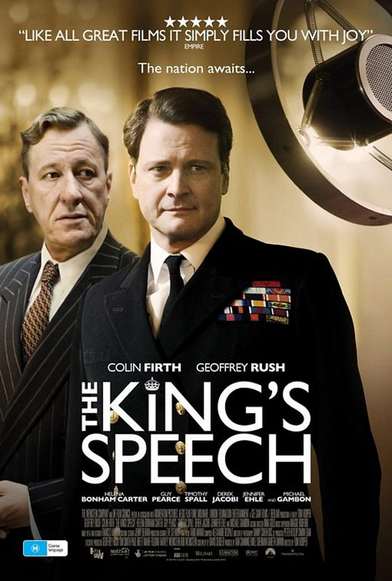 The King's Speech Poster #4