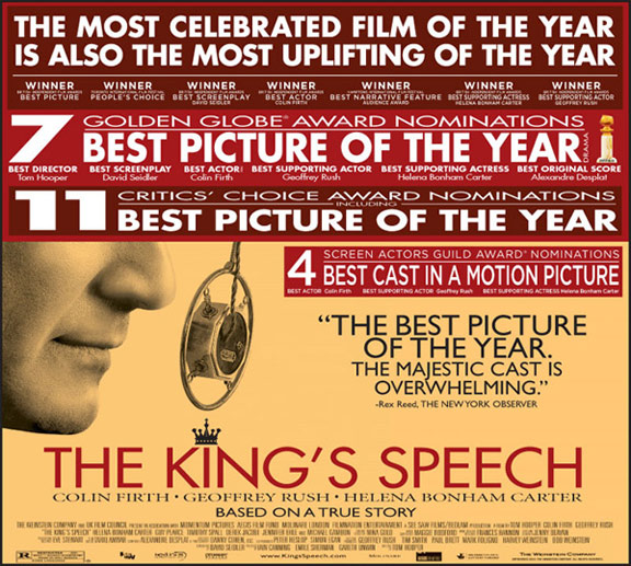 The King's Speech Poster #5