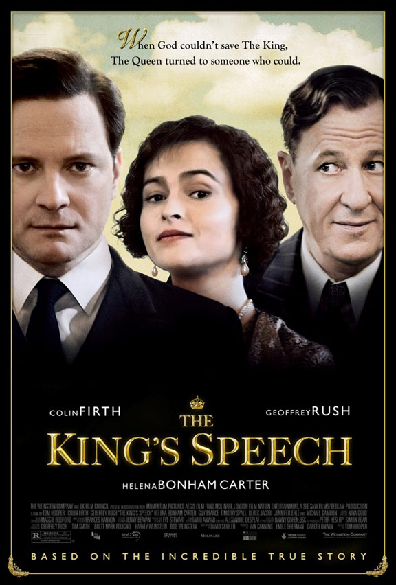 The King's Speech Poster #1