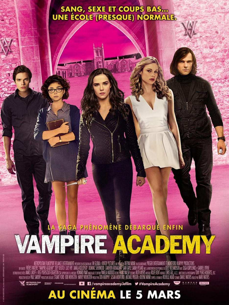 Vampire Academy 2014 BluRay 720p 480MB ( Hindi – English ) ESubs MKV
