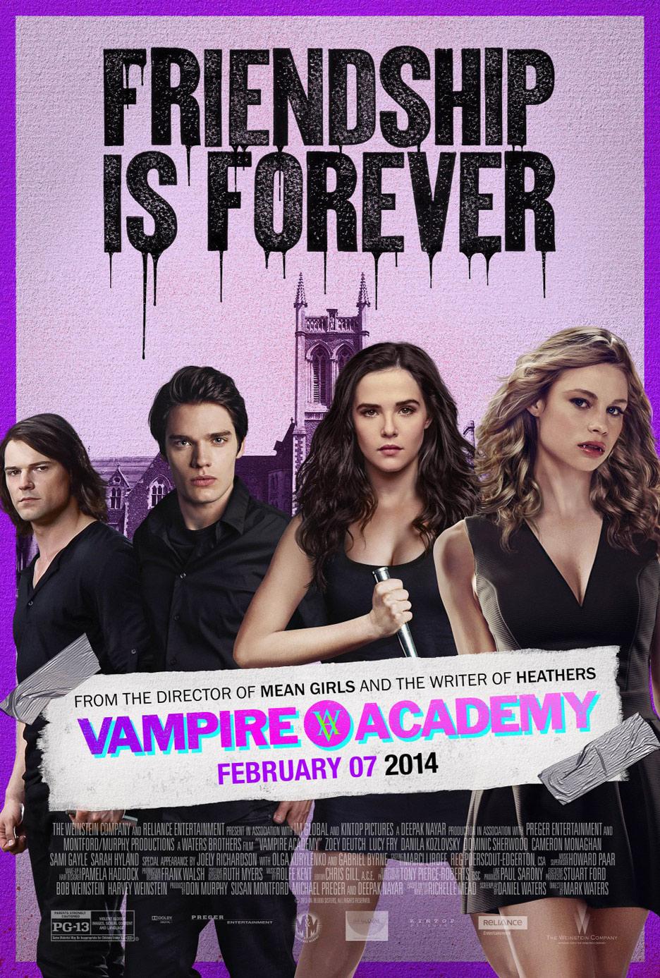 Vampire Academy Poster #9