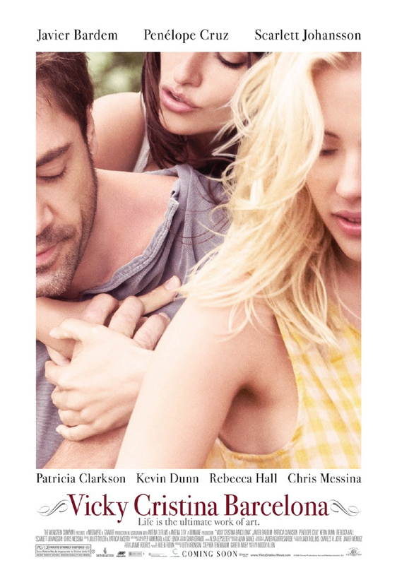 Vicky Cristina Barcelona Poster #1