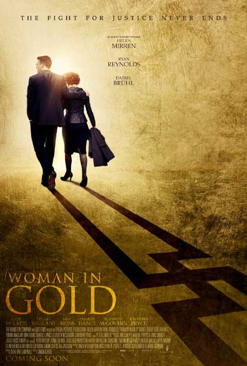 Woman in Gold Poster #1